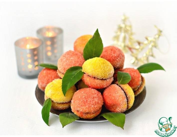 Пирожные персики - рецепт с фотографиями - patee. рецепты