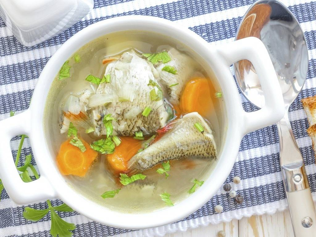 нет суп из карпа рецепт с фото редко надолго