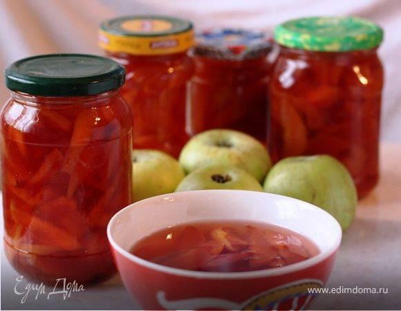 Варенье из яблок и айвы