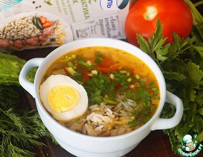 Суп из филе индейки - 7 пошаговых фото в рецепте