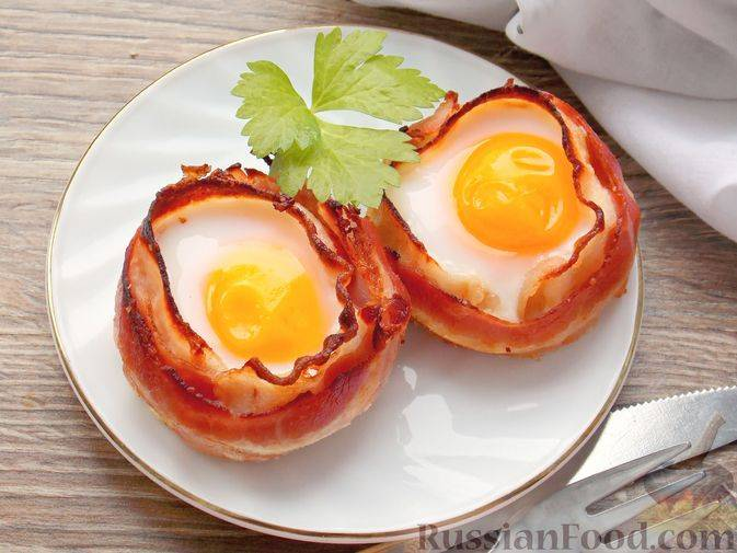 Как приготовить яйца в корзинке - wikihow