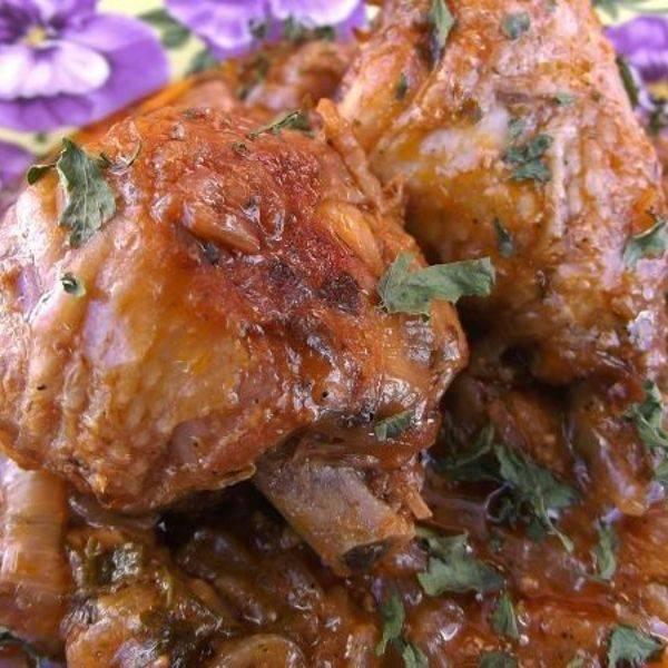 Чахохбили из курицы (или говядины)