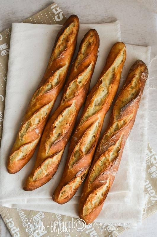 Французский багет: рецепт, как испечь в духовке