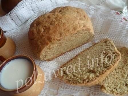 Бездрожжевой хлеб в хлебопечке - рецепты на кефире с содой и на закваске
