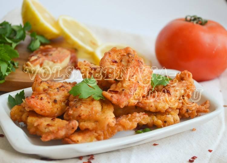 Курица в кляре - вкусные рецепты хрустящих крылышек, ножек и отбивных