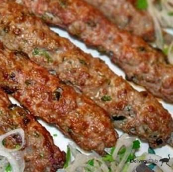Кебаб из свинины на сковороде