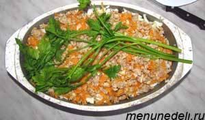 Пересыпка с рисом рецепт | декупаж ажиотаж