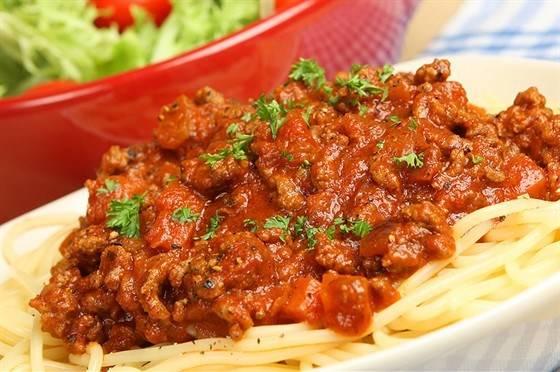 Паста болоньезе - пошаговый рецепт с фото, ингредиенты, как приготовить - hi-chef.ru