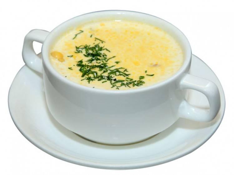 Суп-пюре с кабачком и яблоком
