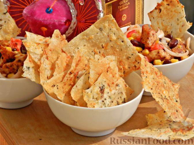 Как сделать чипсы из лаваша с сыром