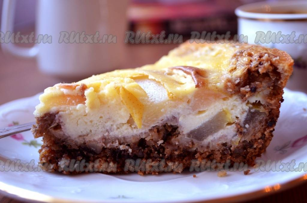 Пирог ленивый с капустой и яйцами