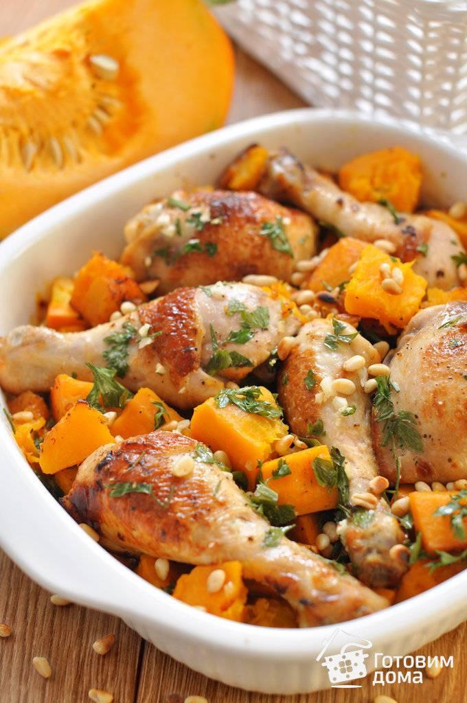 Куриные голени запеченные с овощами - рецепт с фотографиями - patee. рецепты
