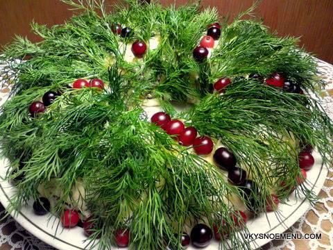 Вкусные угощения в виде рождественских венков: 4 блюда, попробовав которые, гости попросят добавки