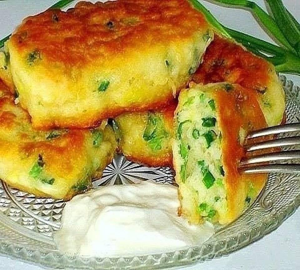 Ленивые пирожки с картошкой и капустой