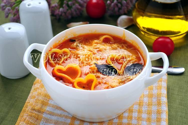 "Лёгкий суп ""минестроне"""