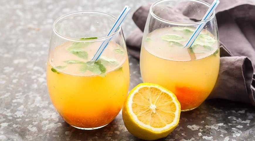 Имбирный лимонад рецепт приготовления с фото