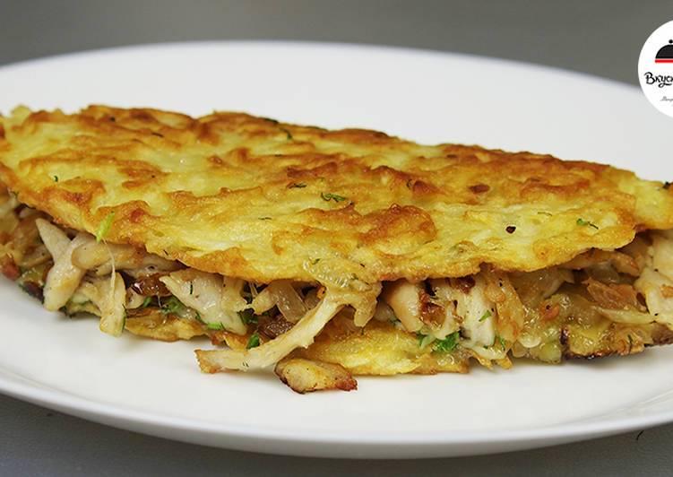 Драники с луком и сыром рецепт