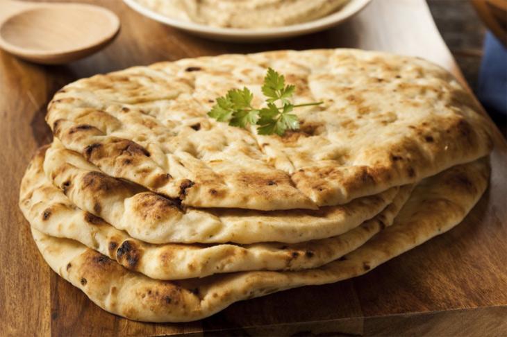 Как приготовить Наан - традиционную индийскую лепешку