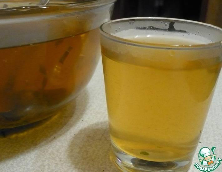 4 рецепта холодных чаев с апельсином и малиной