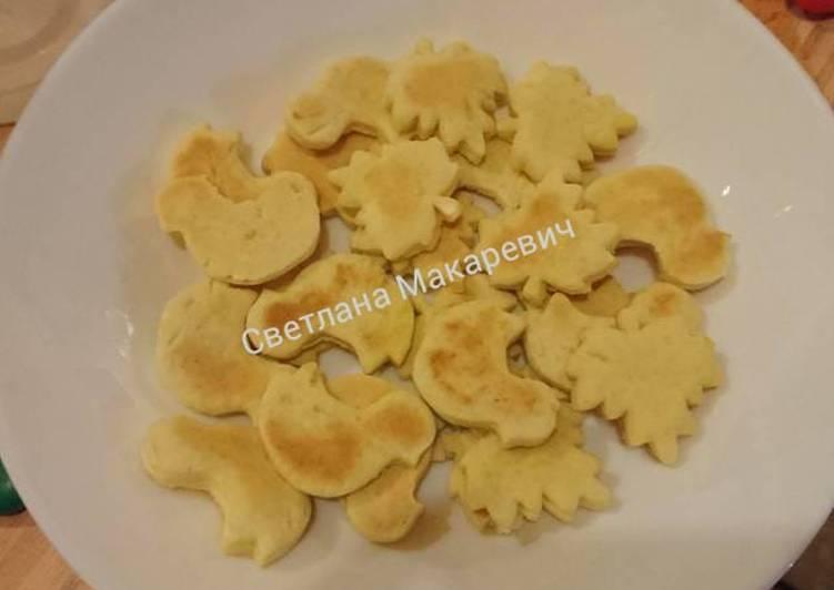 Фигурное печенье от лeши и саши