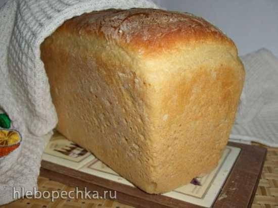 Сладкий хлеб со сливочной прослойкой