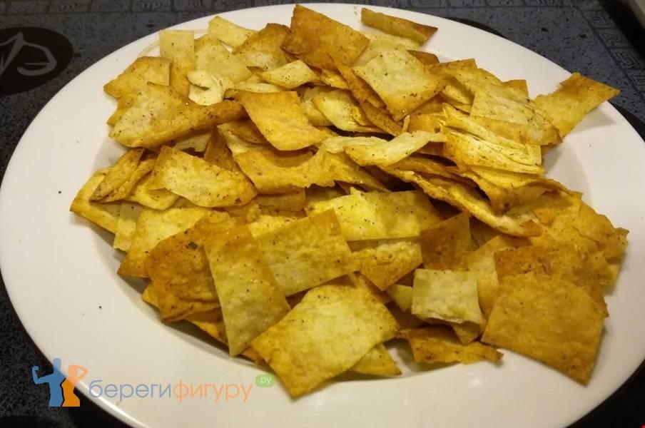 Чипсы из лаваша — лучшие домашние рецепты
