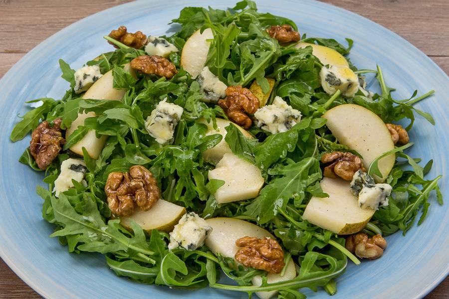 Рецепт: салат с фисташками