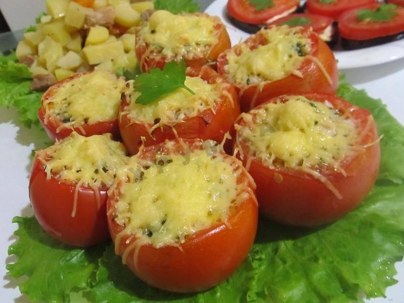 Фаршированные помидоры в духовке: готовим просто и вкусно