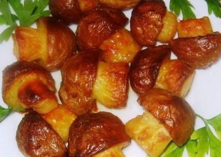 Картофельные лепешечки с грибами