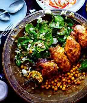 Курица в лимонном маринаде. пошаговый рецепт с фото