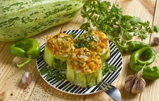Кабачки в духовке быстро и вкусно - 5 рецептов с фото пошагово