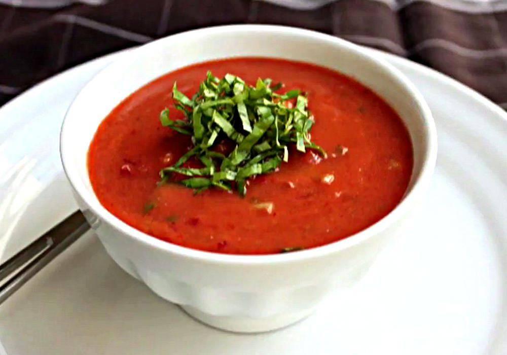Томатный суп гаспачо: рецепт испанской кухни