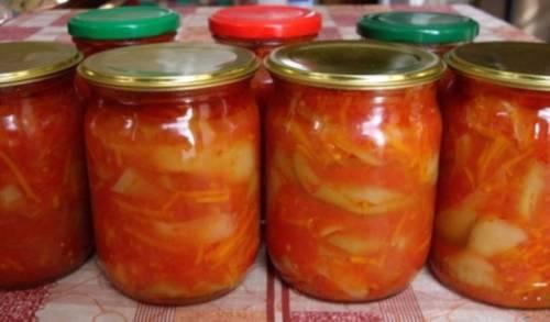 Подборка обалденных рецептов кабачков в томате на зиму