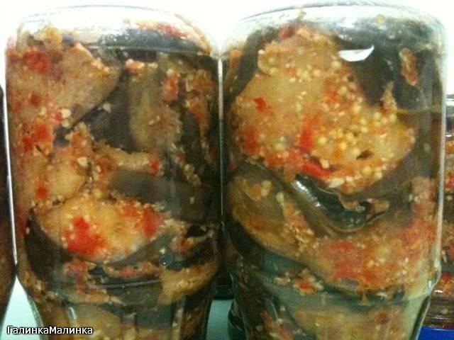 Баклажаны «огонек» на зиму - рецепты салата без стерилизации, острой ленивой закуски, с помидорами и медом