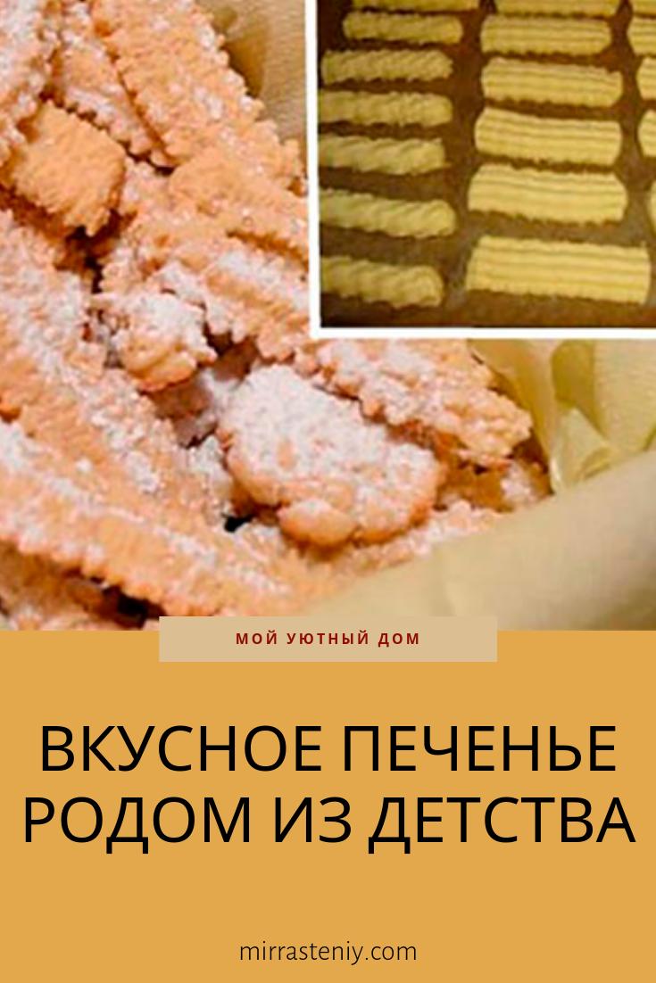 Рецепты печенье вкус детства