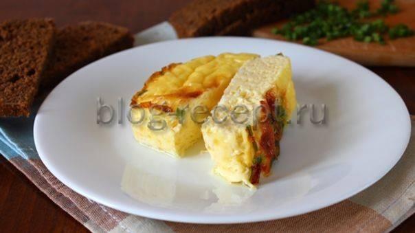 Полезный завтрак – готовим омлет с брокколи в духовке