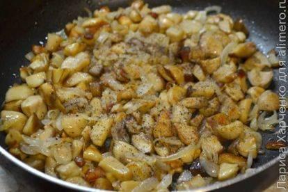 Жареная картошка с грибами: рецепты на сковороде +тонкости приготовления (+отзывы)