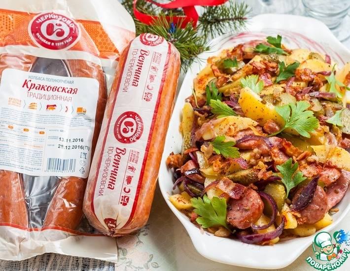 Картофельная лапша по-немецки: готовим вкусно и необычно