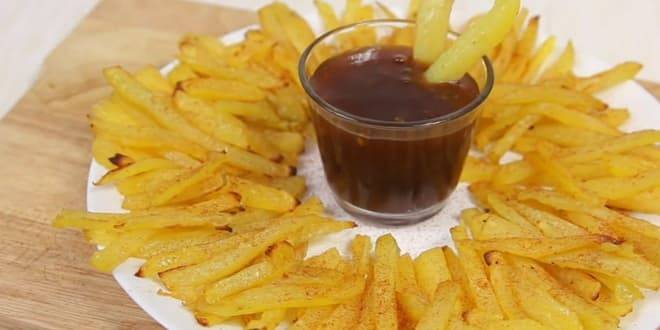 Картофель фри в духовке – 3 самых вкусных рецепта