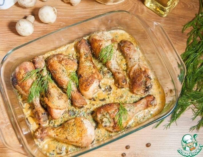 Голень куриная - рецепты