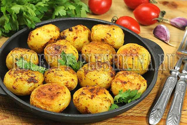 Картошка в духовке запеченная дольками - блюдо, которое нравится детям и не только!