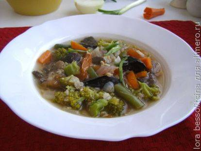 Рецепт супа из сухих грибов: как сварить грибной суп, пошагово