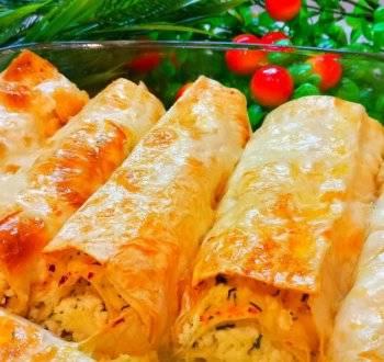 Лучшая хрустящая закуска из лаваша с овощами. рулетики из лаваша - пошаговый рецепт с фото на сайте банк поваров
