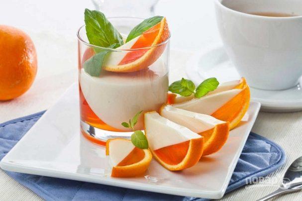 Десерт из апельсинов - 9 пошаговых фото в рецепте