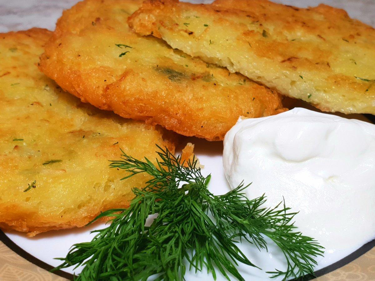 Картофельные драники без муки в духовке