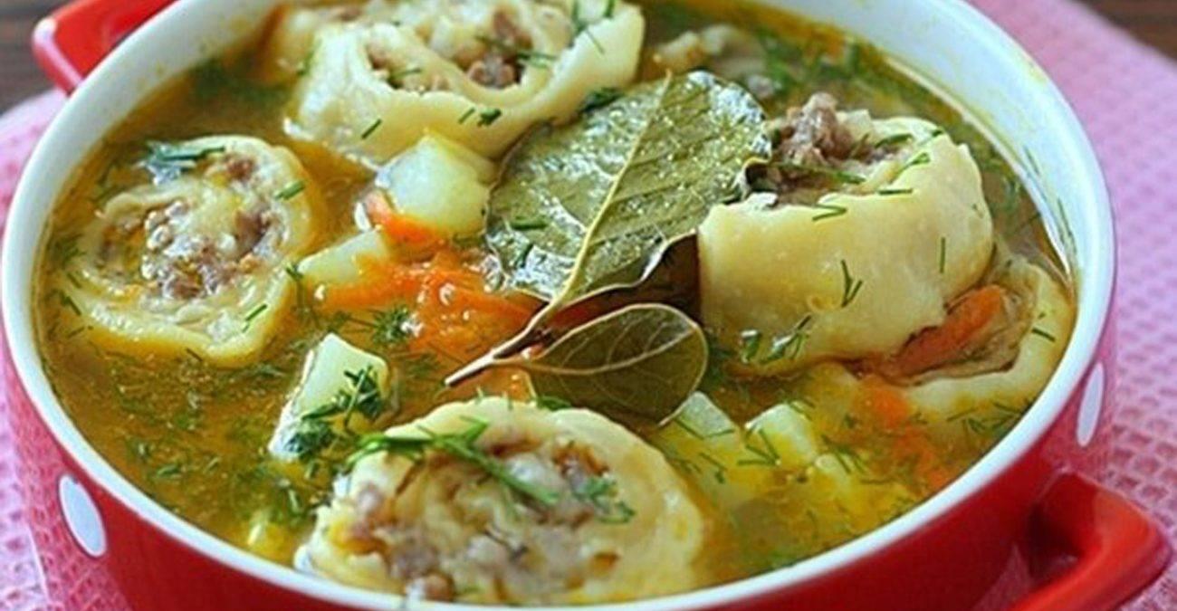Соседка из узбекистана научила готовить вкусный суп из пельменей. простой рецепт