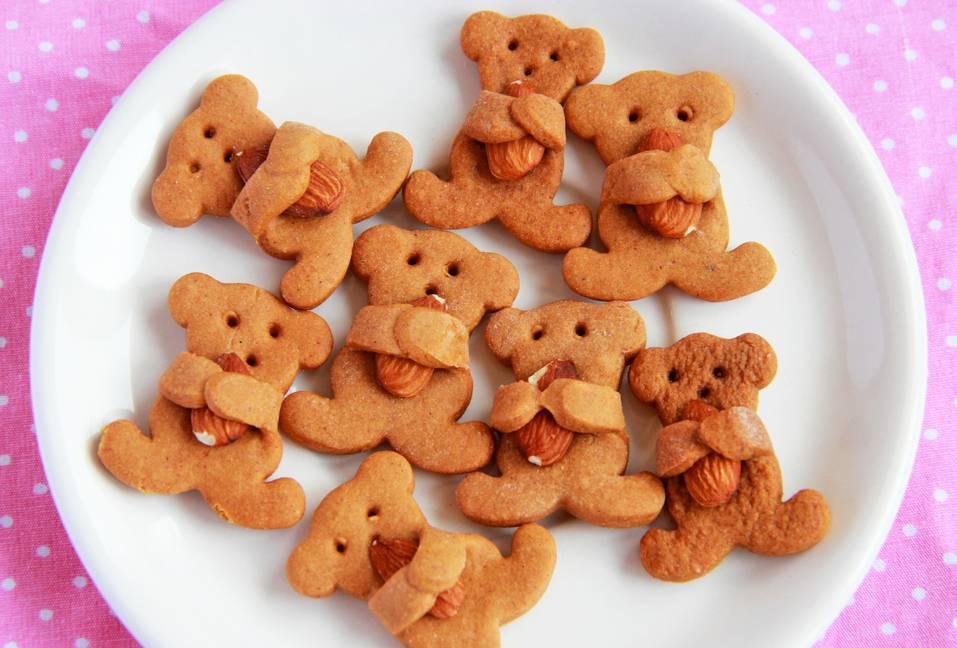 Печенье «мишки» с орехом пекан и коричневым сахаром рецепт   гранд кулинар