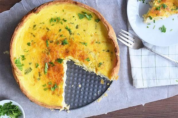 Рецепт: лоранский пирог с курицей