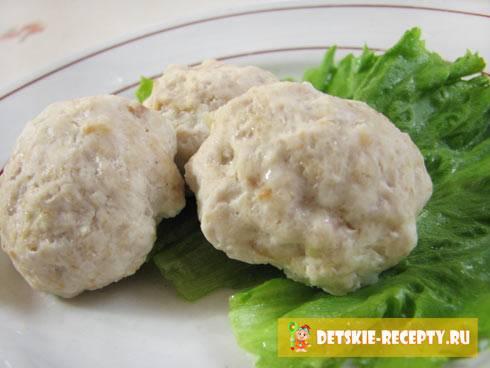 Куриные котлеты на пару — диетическое или обычное второе блюдо