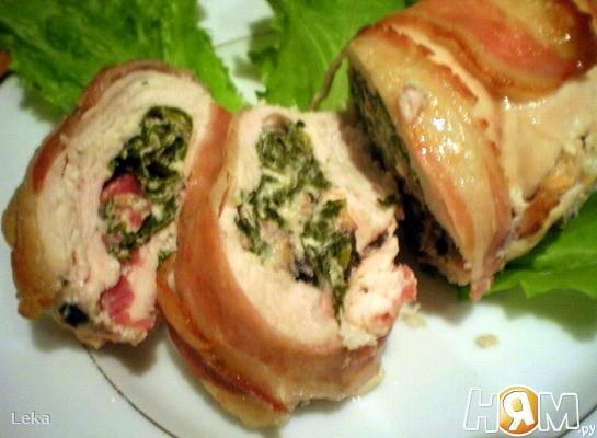 Фаршированные куриные грудки: оригинальные рецепты с фото